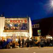 Ridley's Pop Up Restaurant, Dalston, London, UK, 07/09/2011 © Dosfotos